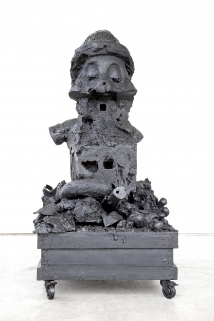 Paul McCarthy_Hauser_Wirth_The Dwarves The Forests_White Snow Dwarf 6