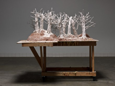 Paul McCarthy_Hauser_Wirth_The Dwarves The Forests_White Snow Loving Forest Female