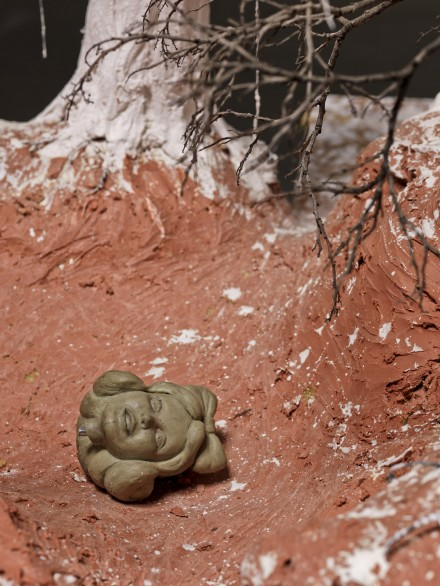 Paul McCarthy_Hauser_Wirth_The Dwarves The Forests_White Snow Loving Forest, Female