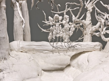 Paul McCarthy_Hauser_Wirth_The Dwarves The Forests_White Snow Dwarf Log, Male
