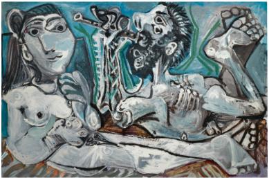 Pablo Picasso L'Aubade 1967