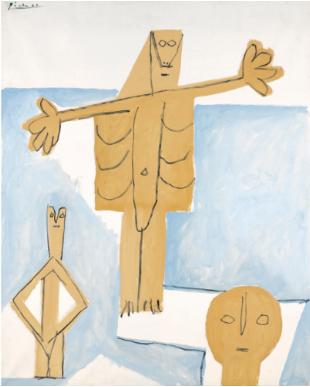Pablo Picasso Le Tremplin 1957