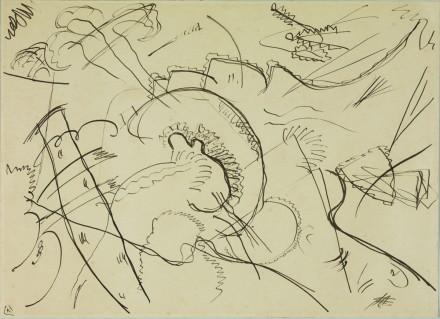 Kandinsky - Study for PWWB - Guggenheim Museum