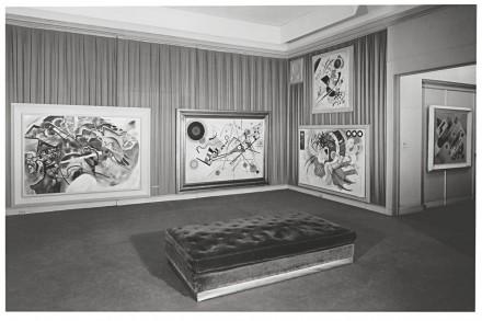 Vasily Kandinsky - Installation View - Guggemheim Museum