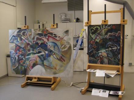 Vasily Kandinsky - Sketch 1 - Guggenheim Museum