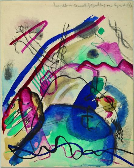 Vasily Kandinsky - Study for PWWB - Guggenheim Museum