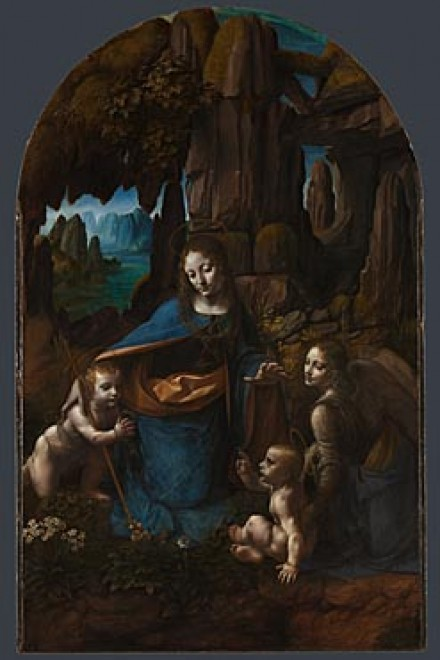 da vinci -- virgin of the rocks -- national gallery