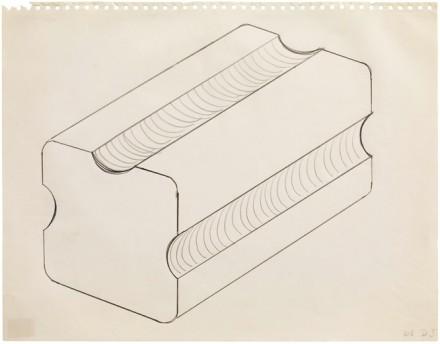 Donald Judd, Untitled (1963). Sprueth Magers
