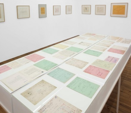 Donald Judd, Working Papers Drawings (1963-93). Sprueth Magers