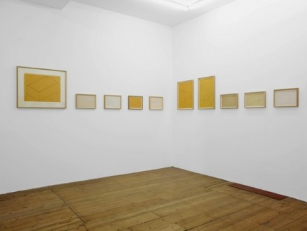 Donald Judd, Working Papers Drawings (1963-93). Sprueth Magers.