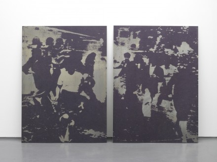Garder Eide Einarsson-Untitled(Tear Gas Scatters Demonstrators)-Maureen Paley