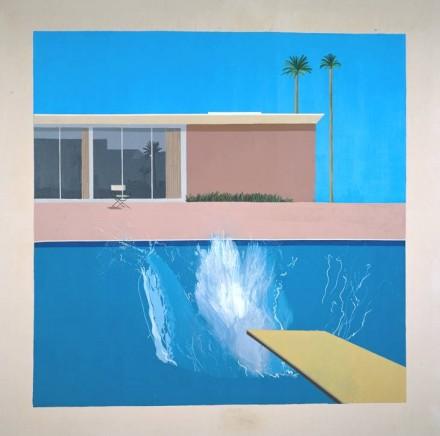 Hockney-A Bigger Splash-Crosscurrents exhibition