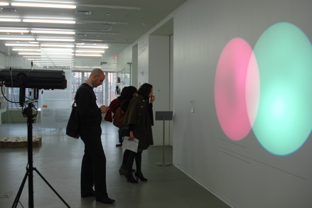 Amalia Pica, Venn Diagrams (under the spotlight), (2011)