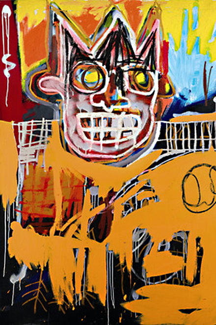 Basquiat - Orange Sports Figure - Sotheby's - Post War & Contemporary Art Sales - 2012