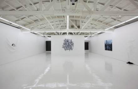 Daniel Arsham, Installation view (2012)