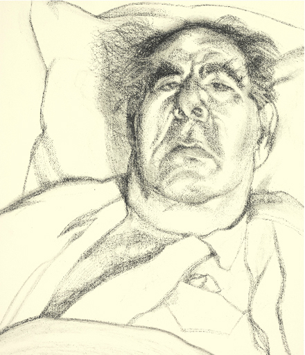Lucian Freud - Lord Goodman - Sotheby's - Contemporary Art Evening Sale - 2012