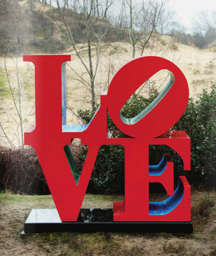Robert Indiana  - LOVE - Phillips de Pury - Contemporary Art Evening Auction - 2012