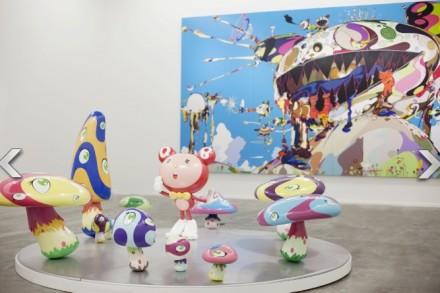 Installation View of Murakami Ego, via Huffington Post