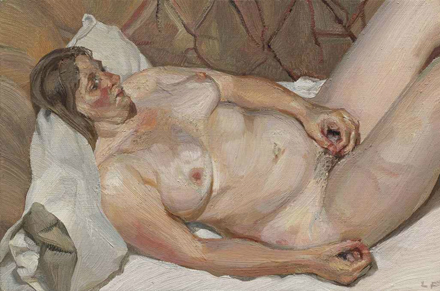 Lucian Freud - Small Figure - Christie's - Post War & Contemporary Art Sales - 2012