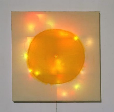 """Mike Kelley, Twinkling Coppers (from """"Plato's Cave, Rothko's Chapel, Lincoln's Profile"""") (1986)"""