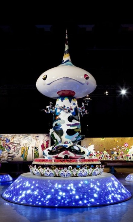 Takashi Murakami, Tongari-Kun, via Huffington Post
