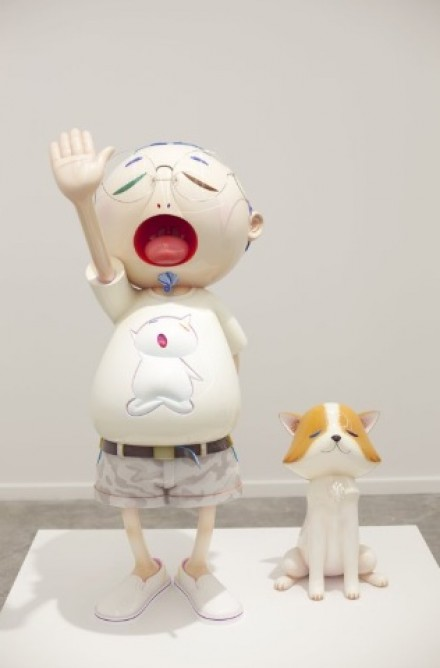 Takashi Murakami, Pom and me (2011), via Huffington Post