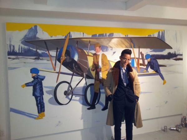 AO Brian Brown Biplane - Brucennial - 2012