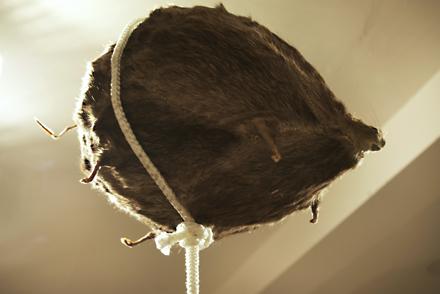 AO - Creepy Rat Sculpture - Brucennial - 2012