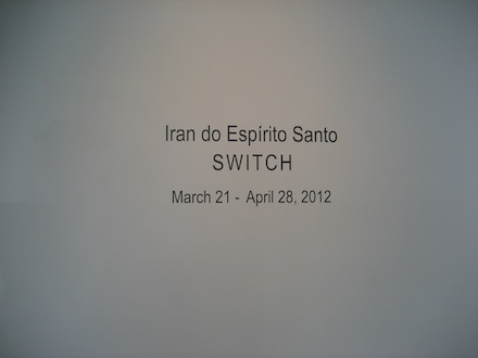 Iran do Espirito Santo, Installation 1. Switch, Sean Kelly Gallery