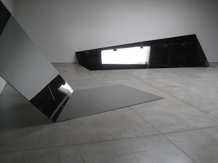 Iran do Espirito Santo, Untitled (Folded Mirror 13 and 14), 2011. Switch, Sean Kelly Gallery