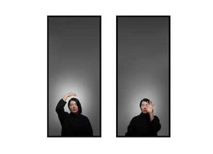 Marina Abramovic, Ecstasy II. With Eyes Closed I See Happiness, Galleria Lia Rumma