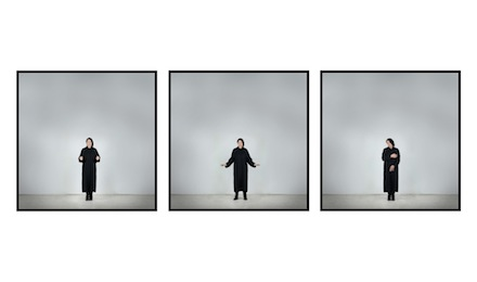 Marina Abramovic, Measuring Body Heat. With Eyes Closed I See Happiness, Galleria Lia Rumma