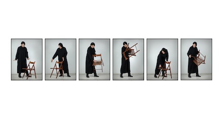 Marina Abramovic, Measuring the Heat of Objects. With Eyes Closed I See Happiness, Galleria Lia Rumma