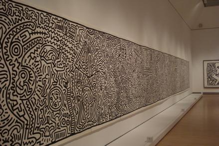 Matrix (1983), copyright Keith Haring Foundation