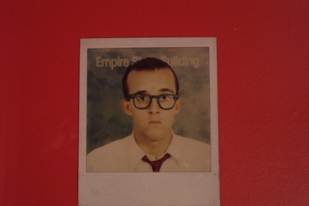 Twenty Polaroid Self Portraits, copyright Keith Haring Foundation