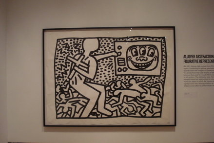 Untitled (1981), copyright Keith Haring Foundation