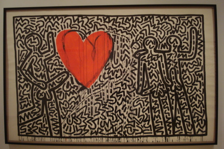 Untitled (1982), copyright Keith Haring Foundation