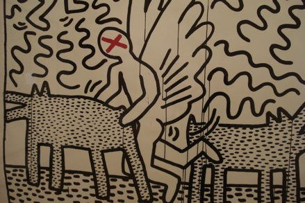 Untitled (June 1982), copyright Keith Haring Foundation