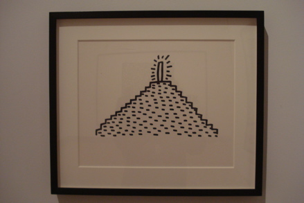 Untitled1, (1982), copyright Keith Haring Foundation