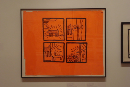 Untitled2 (1980), copyright Keith Haring Foundation
