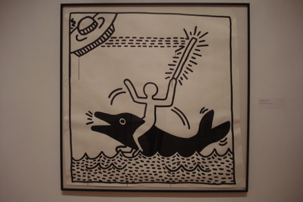 Untitled2 (1982), copyright Keith Haring Foundation