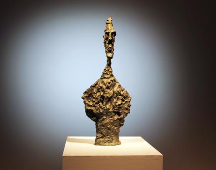 Alberto Giacometti - Buste De Diego - Christie's - Impressionisy and Modern Art Sale - 2012