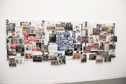 Allen Ruppersberg - Greene Naftali - Frieze NYC - 2012