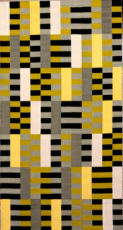 Anni Albers, Wall Hanging (1926), Barbican. (Photo via Bauhaus-Archiv)