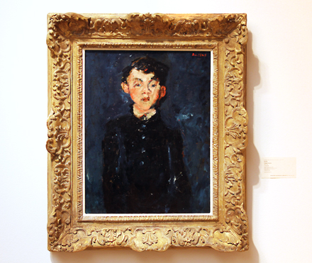 Chaim Soutine - Le Chasseur - Sotheby's - Impressionist and Modern Sale - 2012