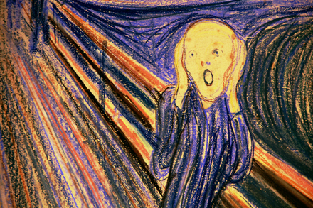 Edvard Munch - The Scream Detail - Sotheby's - Impressionist and Modern Sale - 2012