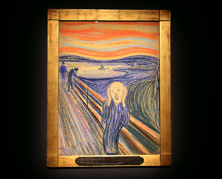 Edvard Munch - The Scream - Sotheby's - Impressionist and Modern Sale - 2012