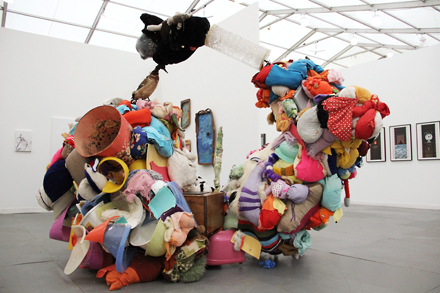 Gelitin - Greene Naftali - Frieze NYC - 2012