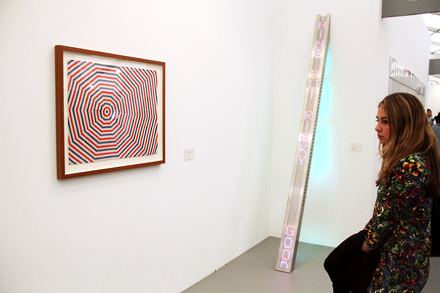 Installation Shot - Cheim and Read - Frieze - 2012