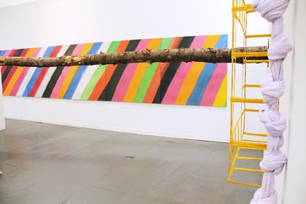 Installation Shot - Maccarone Gallery - Frieze NYC - 2012